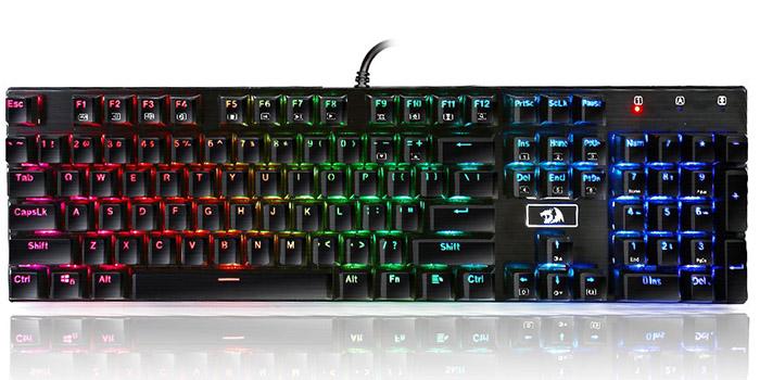 Second best gaming keyboard - Redragon K556 RGB