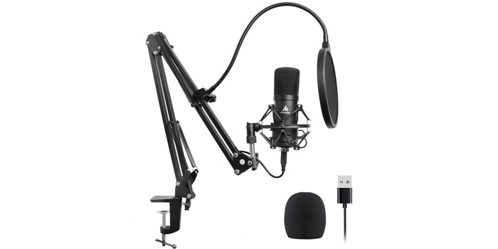 Second best microphone for streaming - MAONO AU-A04