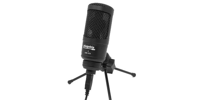 Studio Grade microphone by Plugable