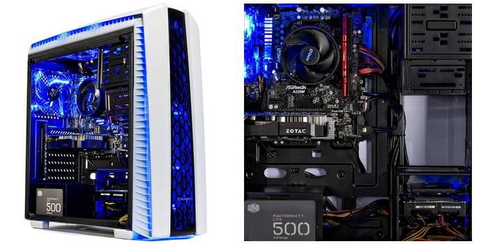 5th Best prebuilt gaming PC - SkyTech Archangel II