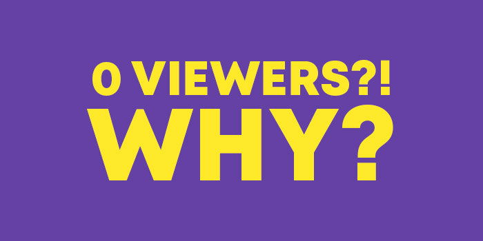 Why does Nobody Watch my Twitch Channel?