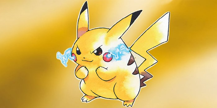 Pikachu from Pokemon Yellow