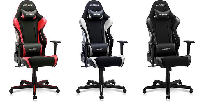 Premium brand DXRacer's gaming chair