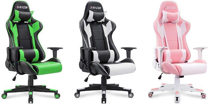 Best gamer chair - Homall S RACER