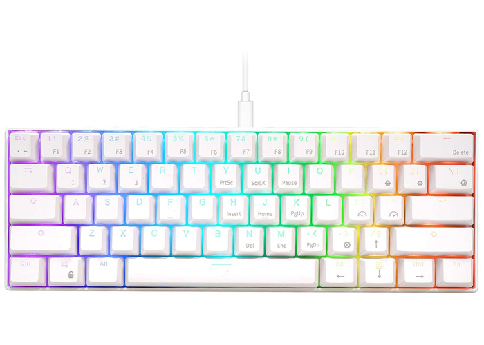 9th best wired mechanical keyboard - Royal Kludge RK61