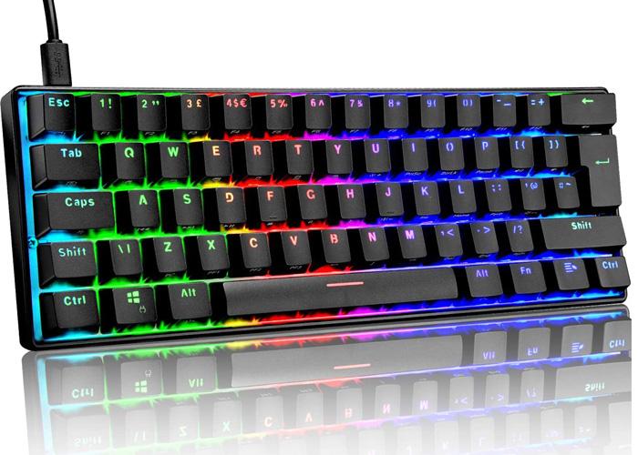 ZIYOU LANG 60% Mechanical Gaming Keyboard
