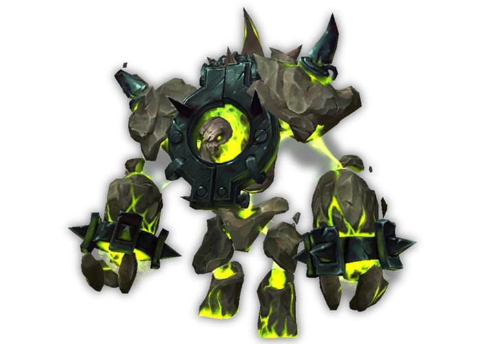 Rare World of Warcraft mount - Felblaze Infernal
