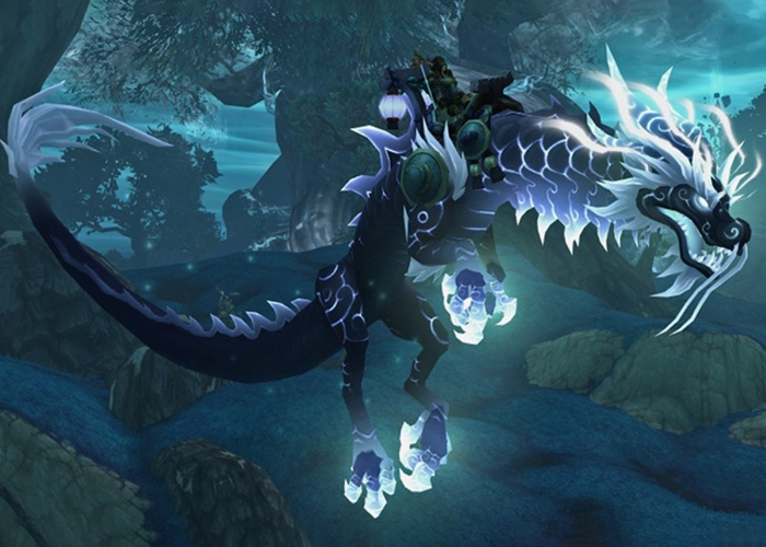 8th Rarest mount in WoW - Heavenly Onyx Cloud Serpent