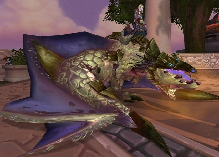 Pleagued Proto-Drake mount in World of Warcraft