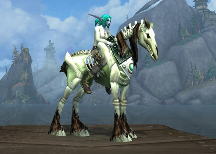 15th rarest mount in WoW - Risen Mare