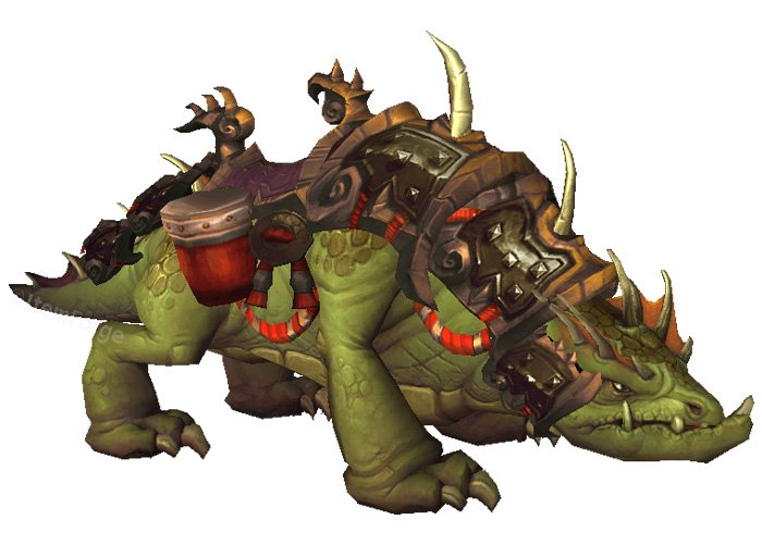 Son of Galleon - One of the rarest WoW mounts