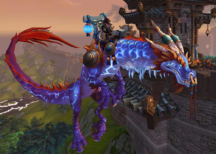 9th Rarest WoW mount - Thundering Cobalt Cloud Serpent