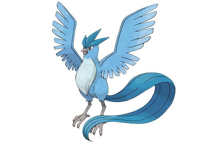 Legendary Freeze Pokémon Articuno