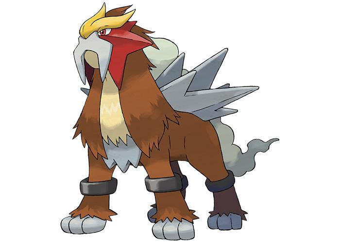 Legendary Beasts Pokémon Entei