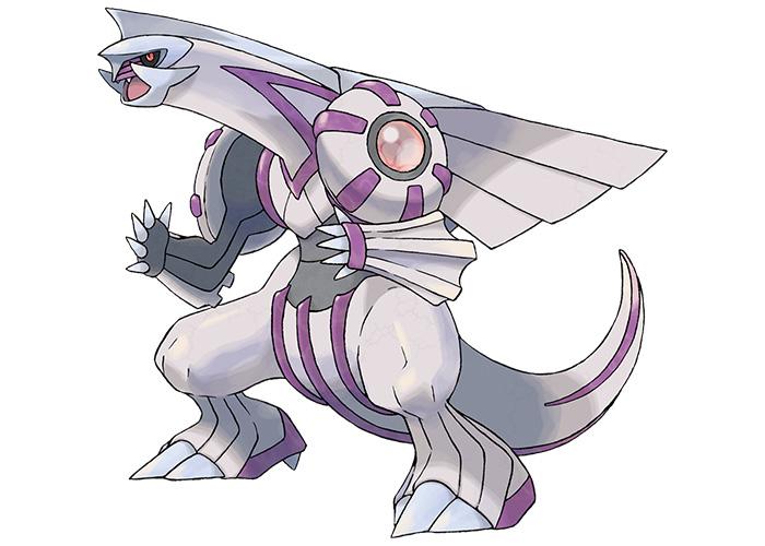 Palkia - Creation of Space Pokémon