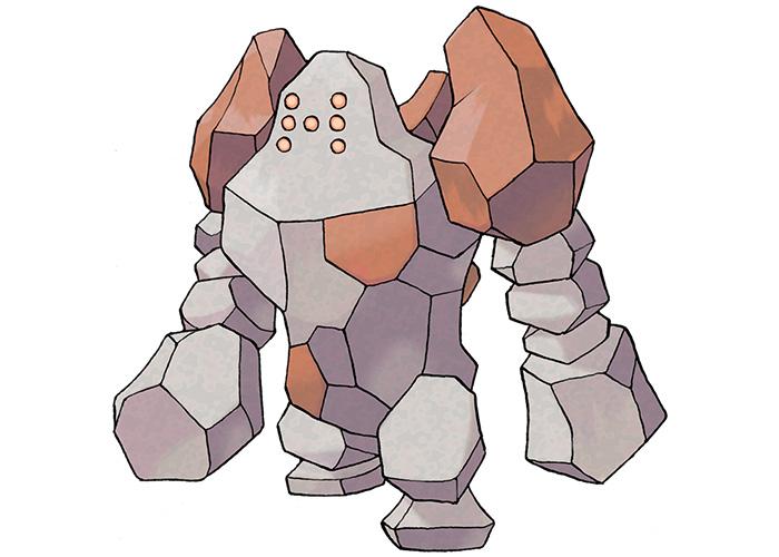Legendary Pokémon Regirock