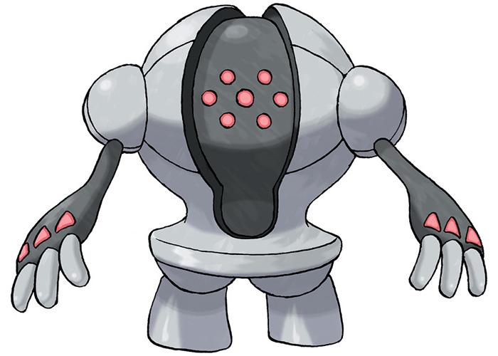 Iron Pokémon Registeel