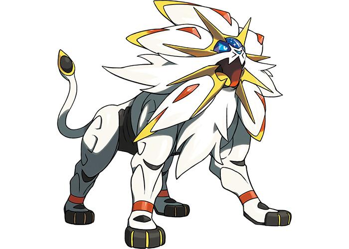 Sunne Pokémon Solgaleo