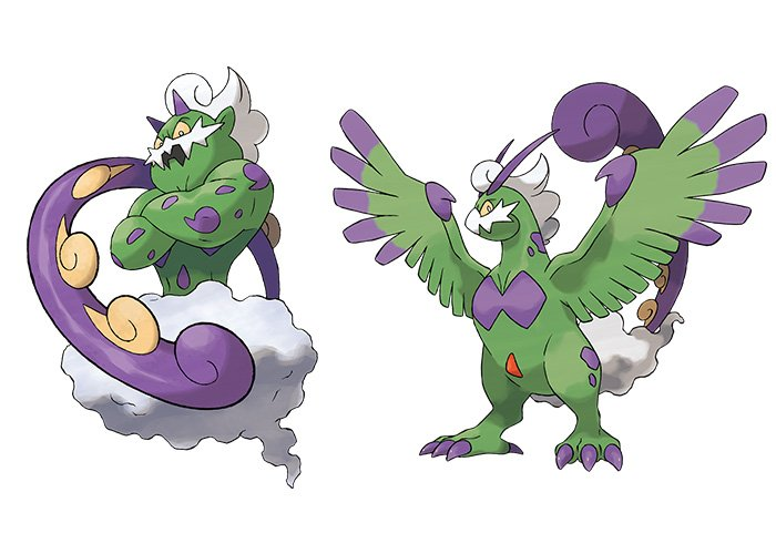Tornadus and Therian Tornadus