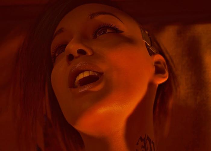 CyberPunk 2077 sex scene